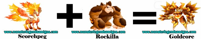 como obtener el monster goldcore en monster legends formula 2