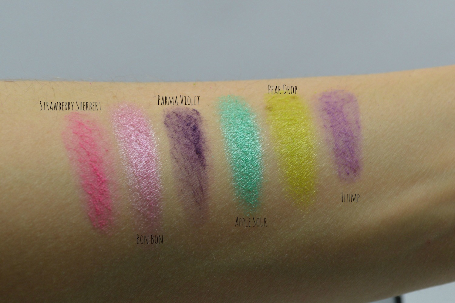 Swatches I-Candy Sleek