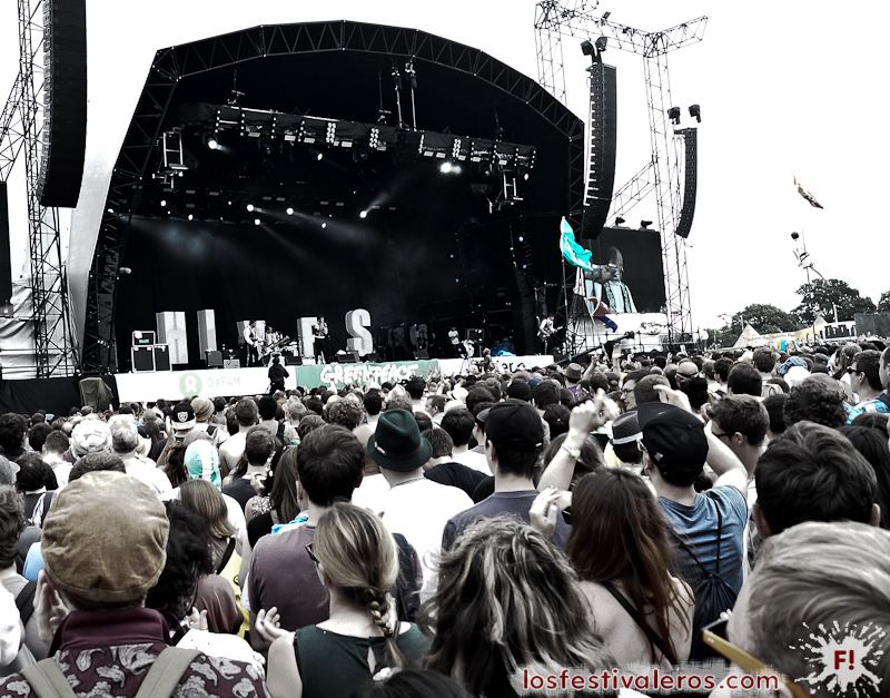 The Hives, Glastonbury Festival, Directo, Concierto, Live