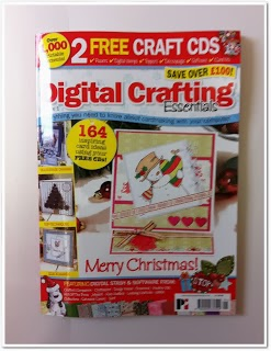 Proud To Have Been Published In Digital Crafting Essentials Issue 1