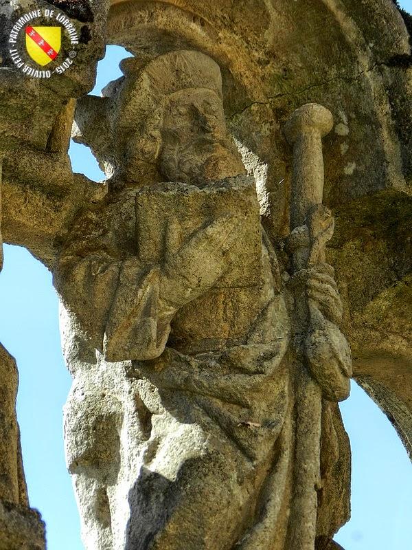 AOUZE (88) - Croix-calvaire (XVe siècle)