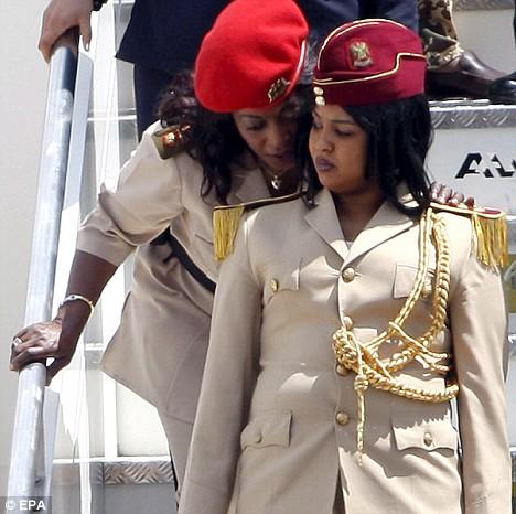 muammar al gaddafi women. Muammar el-Gaddafi#39;s female