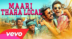 Maari (2015) Full Songs With Lyrics Youtube HD 320Kbps mp3 Vevo Jukebox Watch Online Free Download