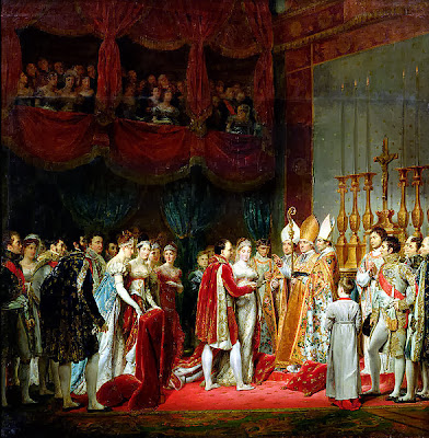 Marriage of Napoleon I and Marie Louise by Georges Rouget, 1810