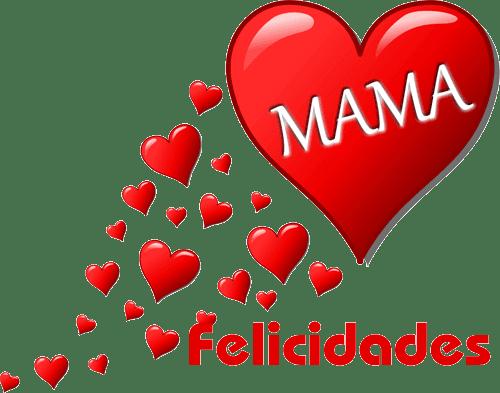 Un gran corazón para mama