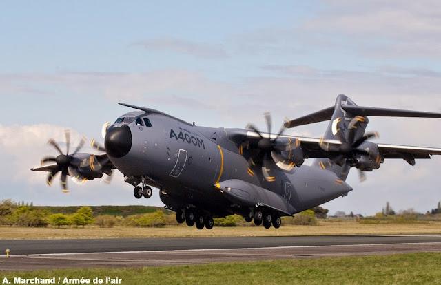 Pesawat Tentera A400M terhempas di Spain