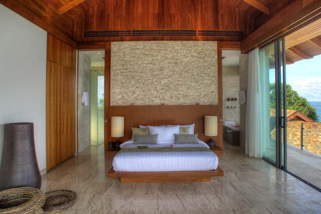 Smaller bedroom in Villa Liberty, Phuket