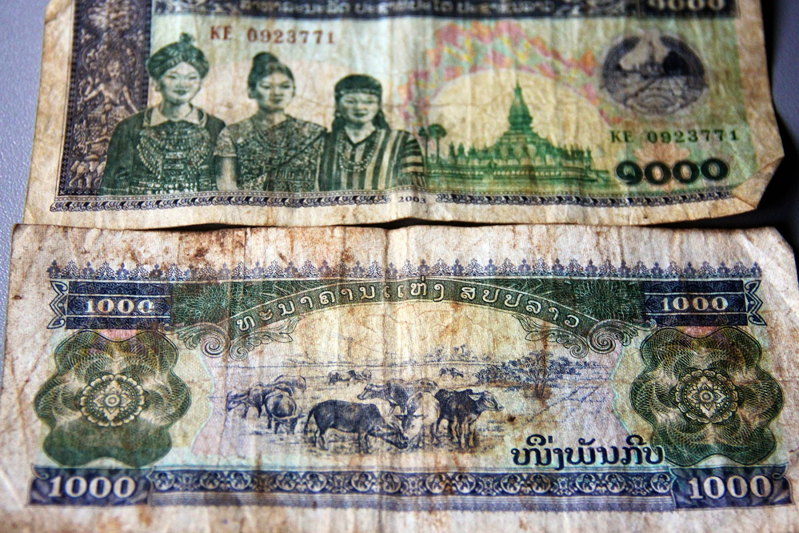 Laos Currency Lao Kip
