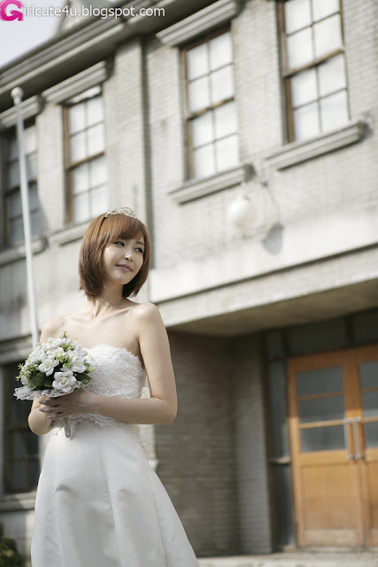 6 Kang Yui - Wedding Dress-very cute asian girl-girlcute4u.blogspot.com