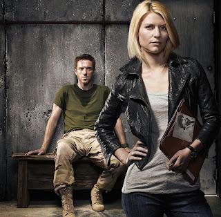 Brody y Carrie en Homeland