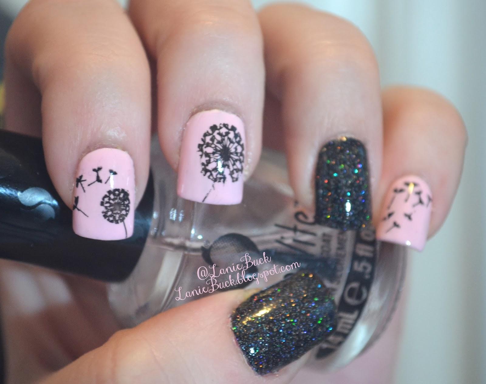DIY Beauty- MoYou London Dandelion Nails