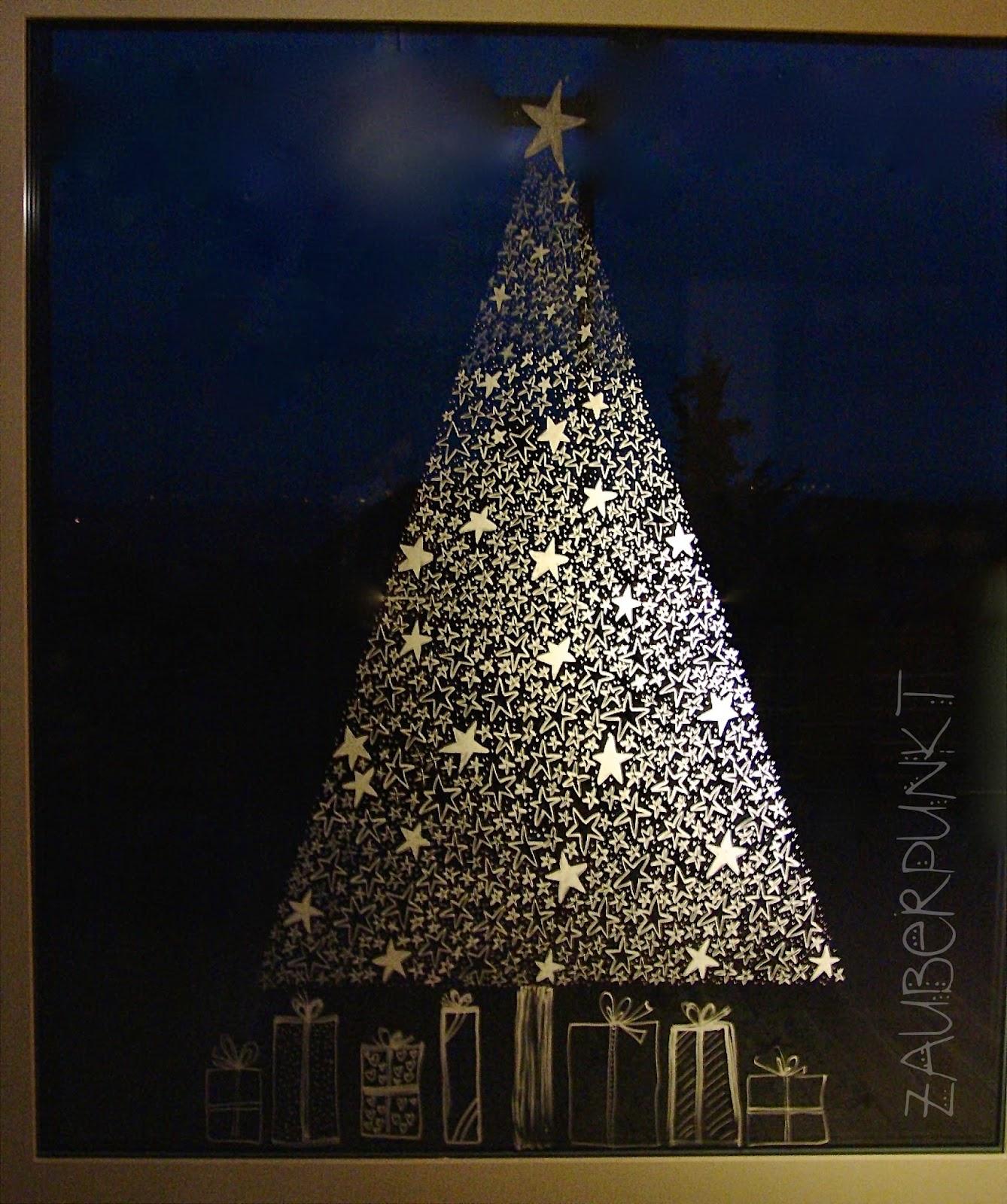 Zauberpunkt weihnachten - Fenster bemalen ...