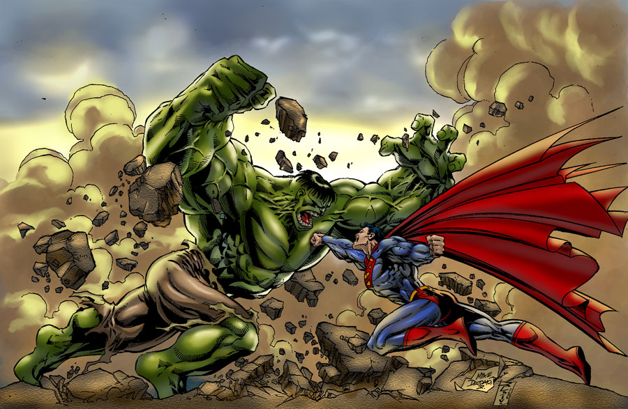 Hulk vs. Superman