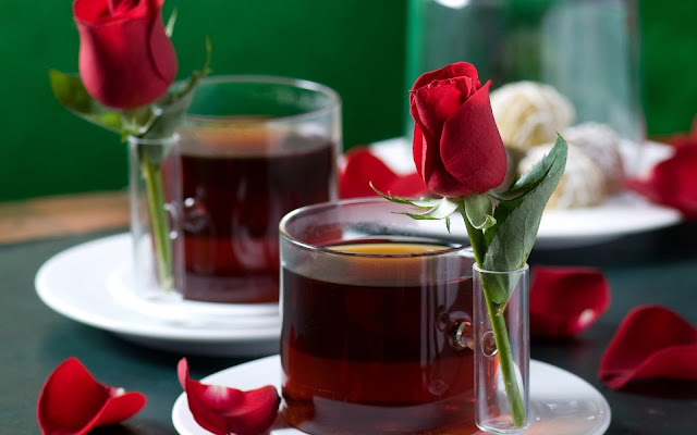 Black Tea Rose