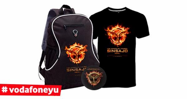merchandising de 'Los Juegos del Hambre: Sinsajo parte 1'