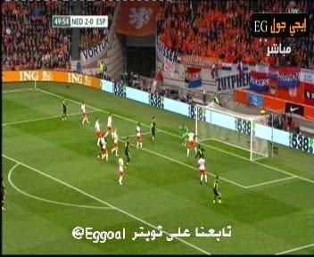 اهداف مباراة هولندا واسبانيا ||تقدم هولندا بهدفين لصفر على اسبانيا   netherlands vs spain
