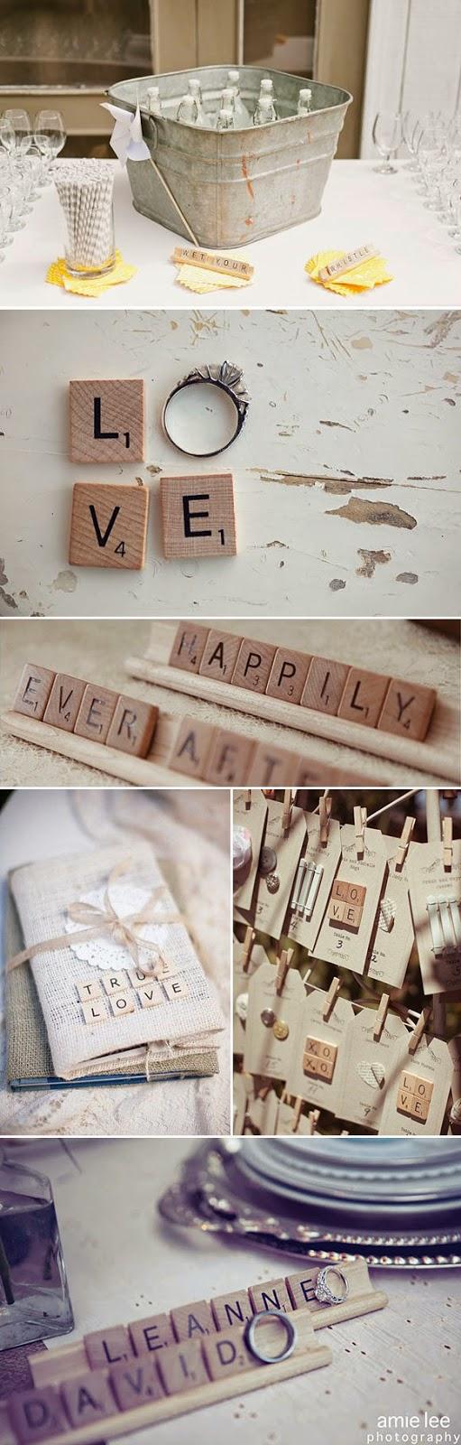 Las letras como pieza estrella for Letras scrabble decoracion