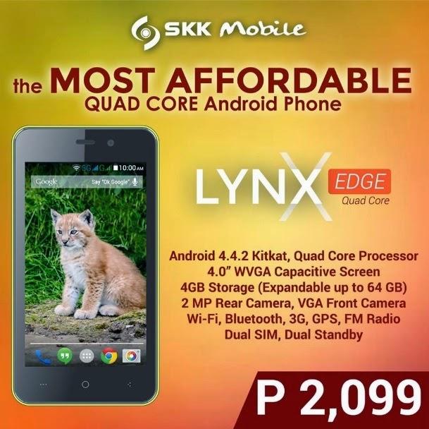 Cheapest quad core smartphone in the philippines