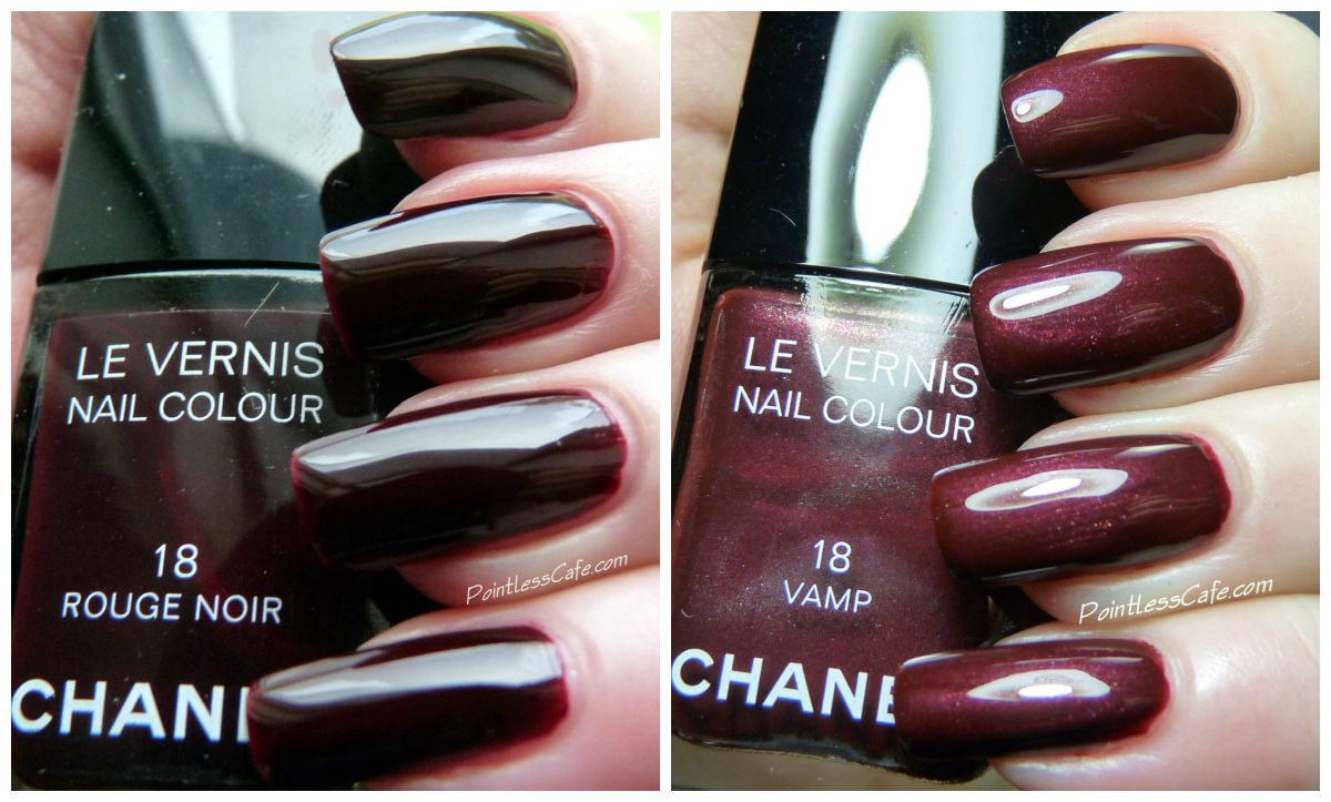 Chanel 18 Vamp and 18 Rouge Noir | Pointless Cafe