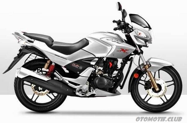 Hero Honda CBZ Xtreme silver