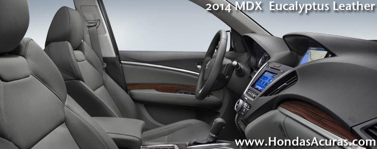 2014 acura mdx eucalyptus interior 2014 acura mdx forest mist metallic