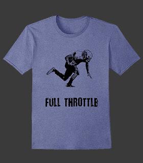 T-Shirts Designed by Sports Artist John Robertson
