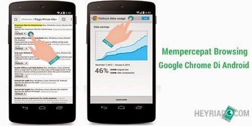 Cara Mempercepat Browser Chrome Di Android Agar Tidak Lag