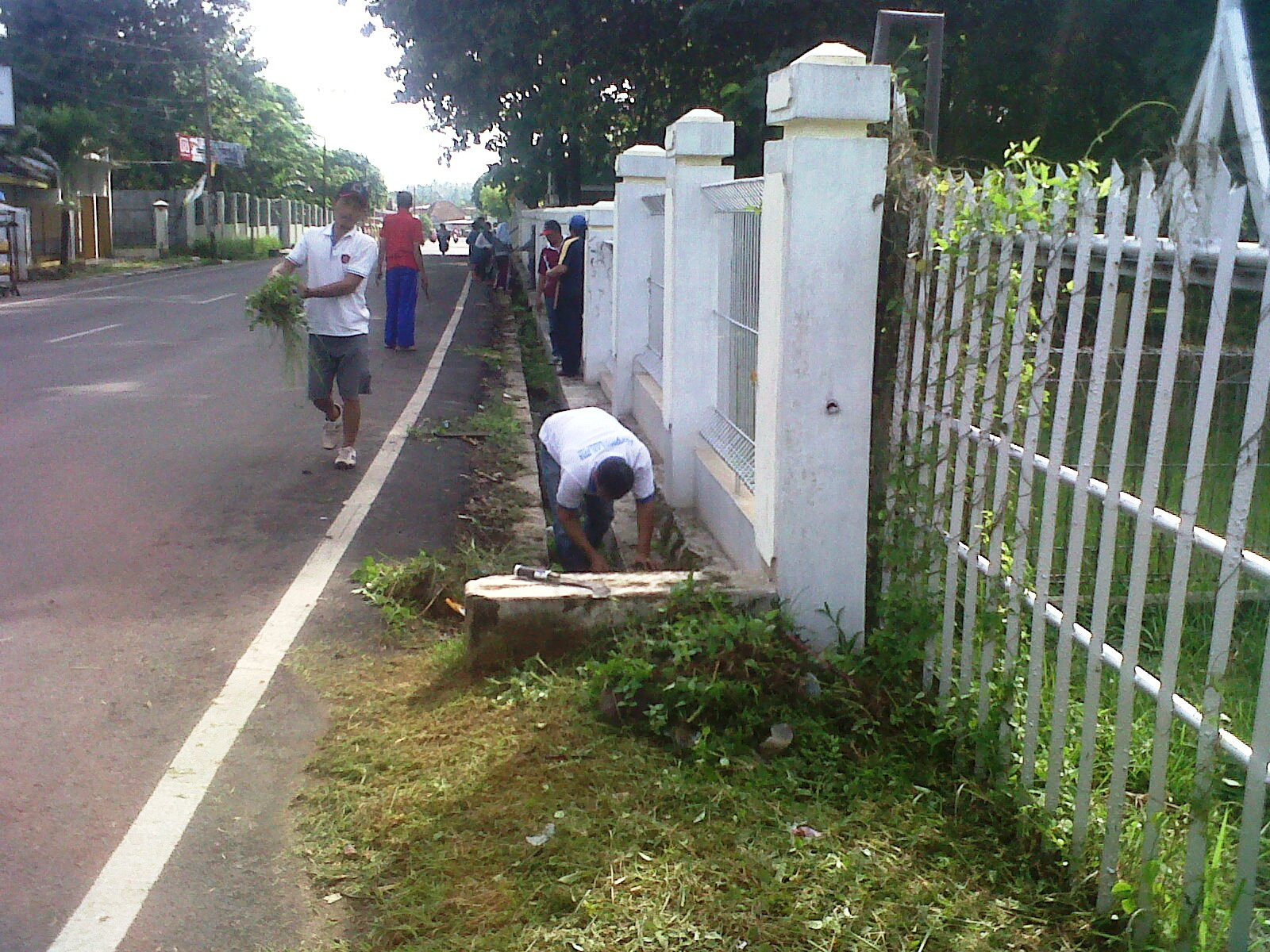 Kerja bhakti Jumat Bersih