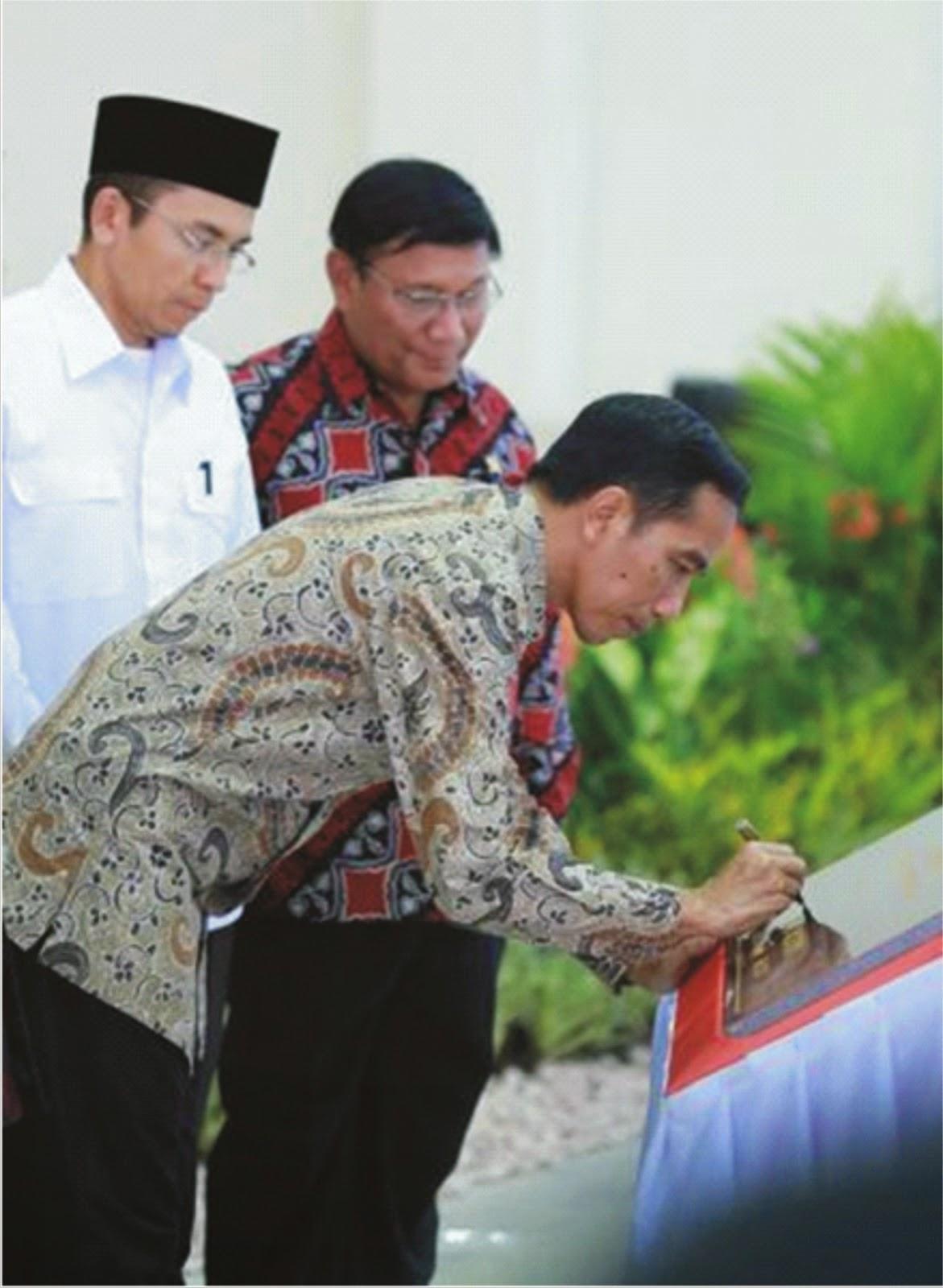 Presiden RI Joko Widodo (Jokowi) Resmikan Gedung IPDN Kampus NTB
