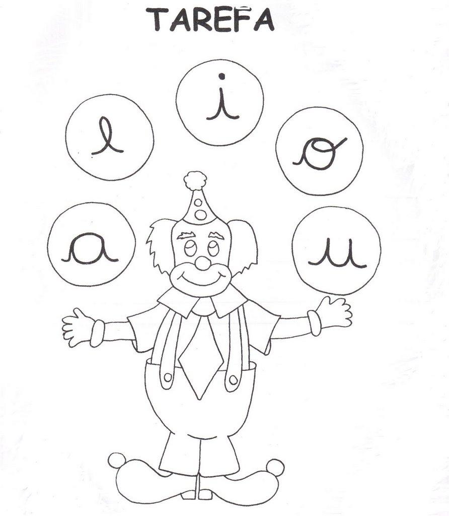 Well-known As Vogais - Tarefas para Educação Infantil. - Aprender e Brincar UQ93