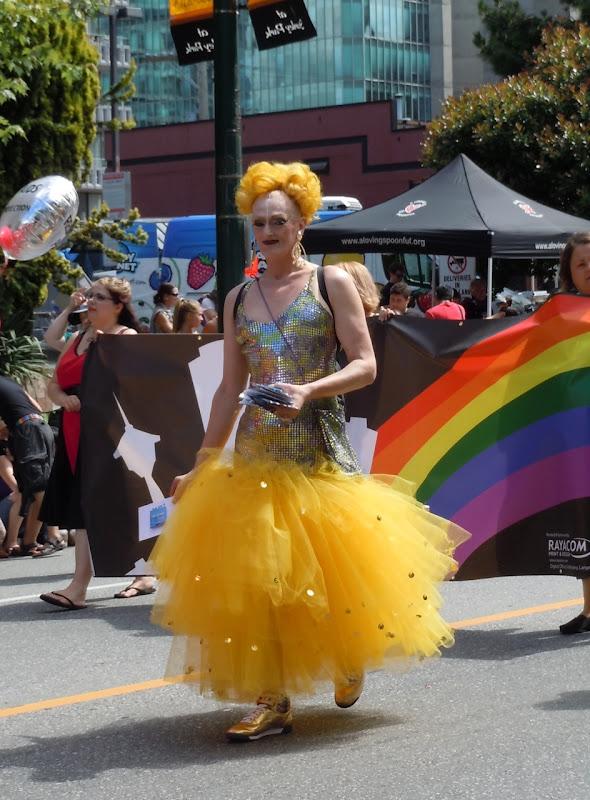 Vancouver Pride Parade Diva