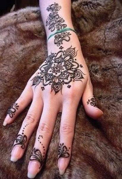 временные татуировки хной - Временные тату хной Тату Плюс