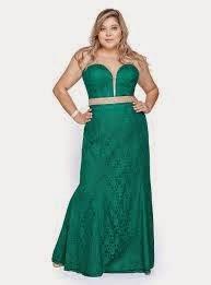 vestido longo verde tomara que caia para gordinhas - dicas e fotos