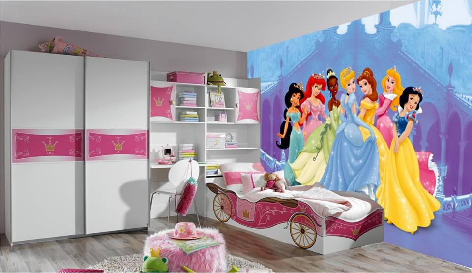 Kids bedroom ideas disney theme for kids rooms small for Childrens bedroom ideas girls