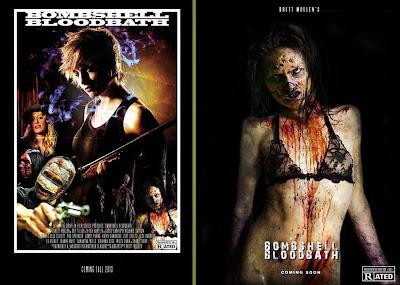 Bombshell Bloodbath, teaser poster