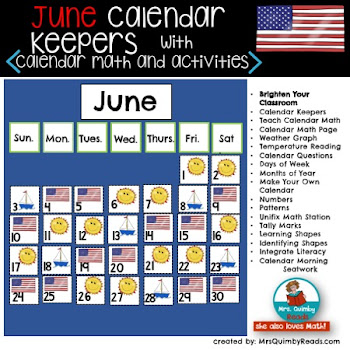 Calendar Keepers for June
