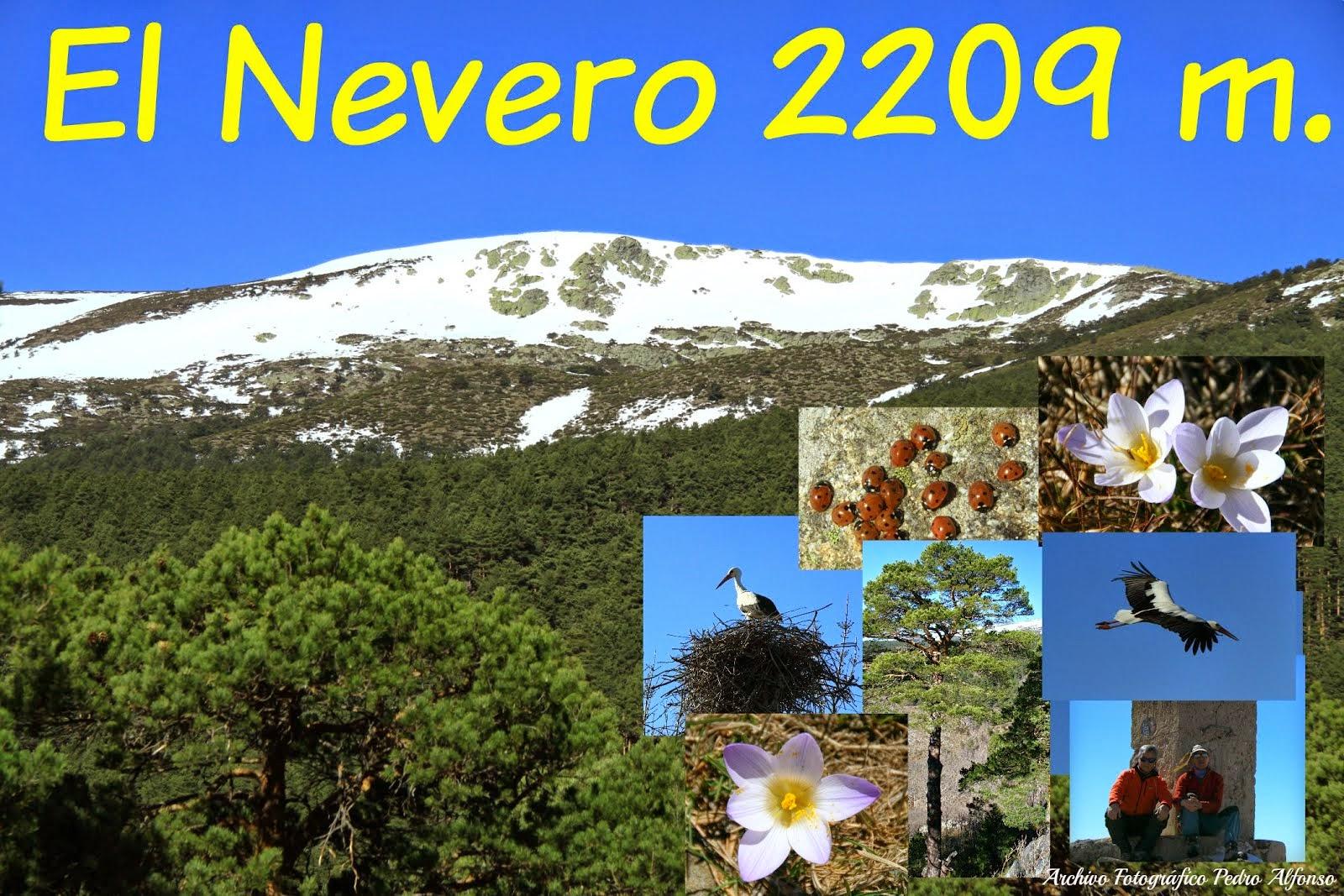 El Nevero cumbre de los Montes Carpetanos