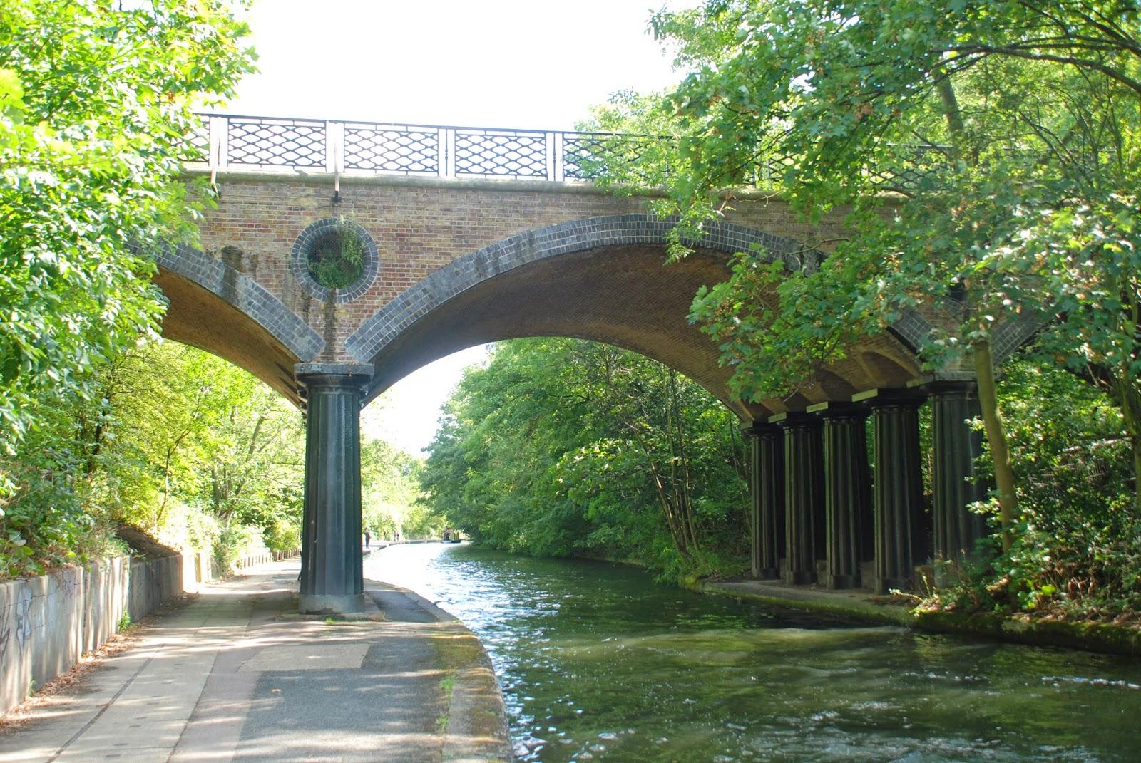 Macclesfield Bridge,Regent's Canal, London