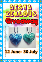 'Aesya Zealous 2nd Giveaway'