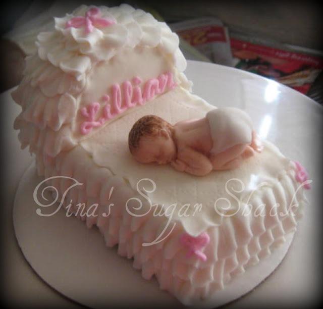 Bassinet Cake5