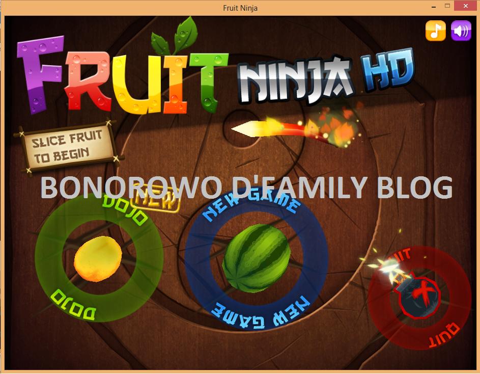 Fruit ninja online game download