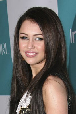 Fashion Clothes Designing And Tattoos Miley Cyrus Straight Hair