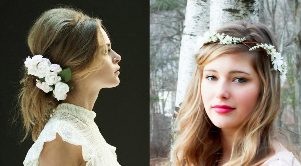 19 peinados fáciles y rápidos con diadema de flores YouTube - Peinados Con Diademas De Flores