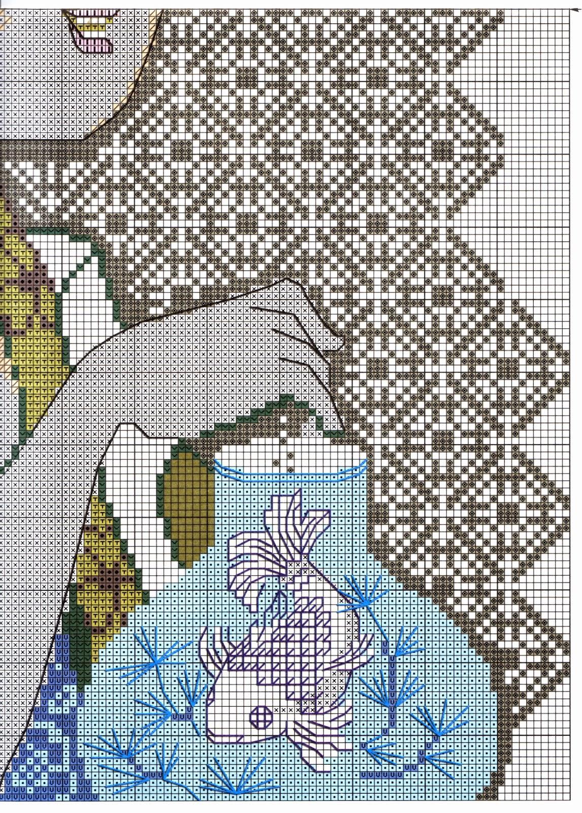 схема для вышивки такса риолис
