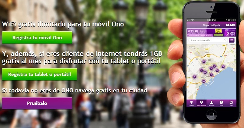 Wifi gratis de alta velocidad