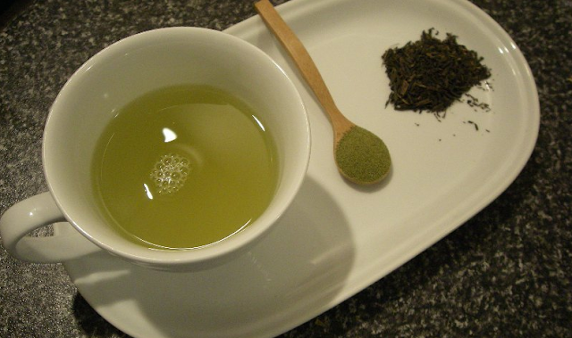 Power of green tea