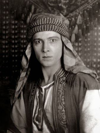 Rudolph Valentino 1st hollywood star