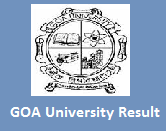 GOA University Exam Result 2016 semester wise