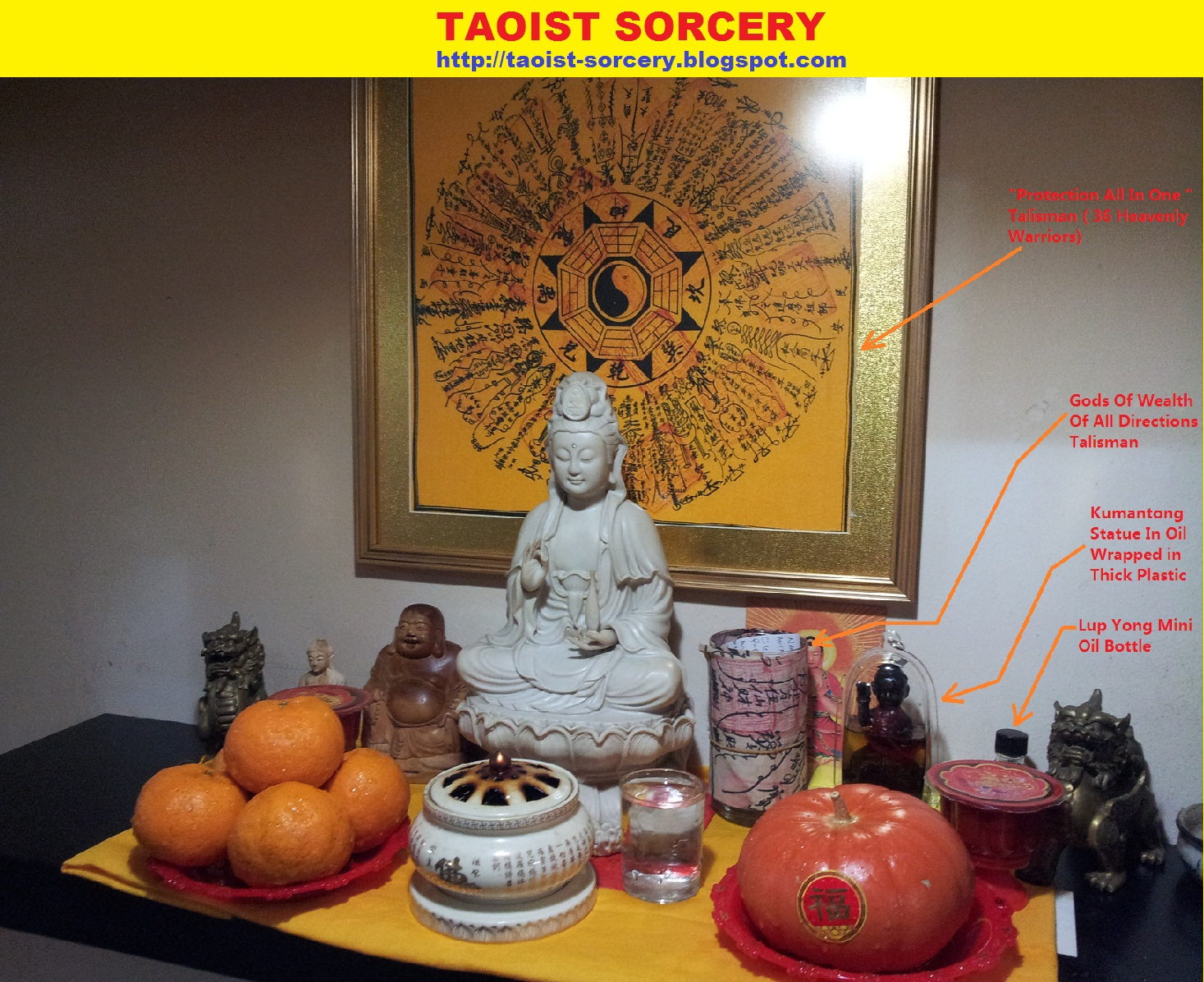 How to Make a Taoist Altar