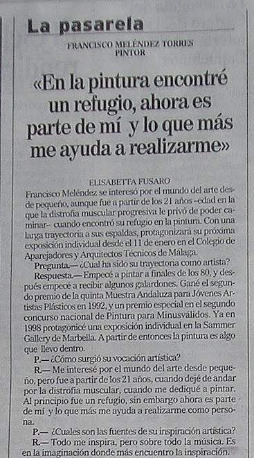 """""""EL MUNDO - MÁLAGA"""""""
